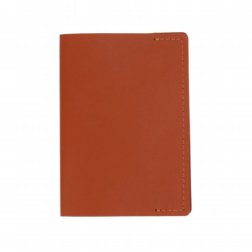 Recycles Leather - Passport Holder - Tan